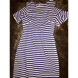 Striped Calvin Klein dress